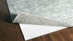 vinyl backed rug pad carpet runner pads thick dark hardwood wonderful felt for floors area home
