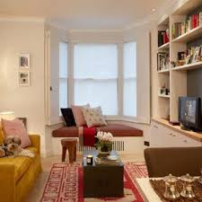 bay window ideas living room. Contemporary Room Transitional Formal And Enclosed Living Room Photo In London With White  Walls A Tv Stand Intended Bay Window Ideas Living Room