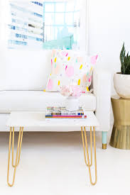 Accent Table Decorating Ideas Diy Marble And Gold Accent Table Sugar Cloth