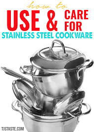 stainless steel cookware care. Beautiful Cookware How To Use And Care For Stainless Steel Cookware Inside O
