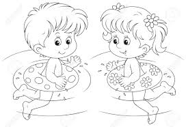 swimming clipart black and white. Plain And With Swimming Clipart Black And White O