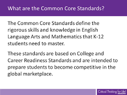 Common Core Chart Common Core Standards And Strategies Flip Chart Ppt Video