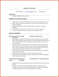 Nursing Resume Objective Statement For Nurse Medical Assistant