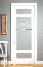 frosted glass pantry door home depot