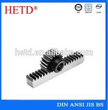 High Quality China Supplier Hetd Brand Spur Gear Rack And Pinion