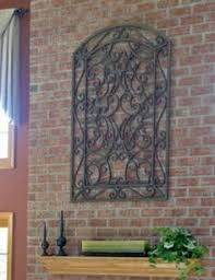 wrought iron wall decor exterior on very large outdoor metal wall art with large wrought iron wall decor you pick color s metal wall decor