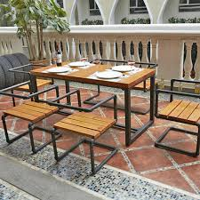 wrought iron and wood furniture. American Retro Dinette Combination Iron Restaurant Hotels Snack Wood Furniture Wrought And I