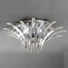 sinclair crystal ceiling light il50442