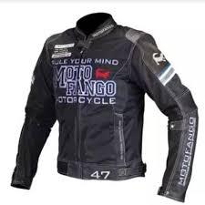 komine mj 001 motofango ride leather mesh jacket