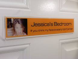 Make A #funny Door Sign For Your Kid, Show Off Their #Personality Pic
