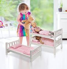 beds for girls age 10. Beautiful For Triple Bunk Bed Beds For 18 Inch Dolls Toys Frame Kids Girls Doll  Convertible  EBay For Age 10