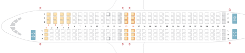 seat configuration boeing 737 800 sunwing airlines