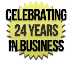 Image result for 24 YEARS IN BUSINESS
