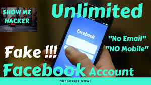 Number - Youtube Fake Accounts Email Without Unlimited To Facebook Make How amp;
