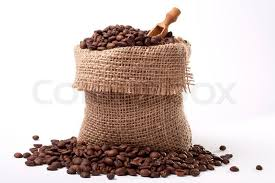 coffee beans bag. Plain Coffee Coffee Bag  Coffee Beans In Canvas Sack Isolated On White  Background  Stock Photo Colourbox To Beans Bag G