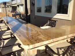 the best materials for outdoor kitchen countertops second nature outdoor living landscaping custom landscaping in kansas city