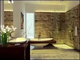 round purple fur area rug stone bathtubs river rock stone bathroom vanities beige stain wall stone