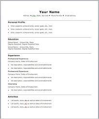 Free Resume Templates Microsoft Word Easy Resume Template 98xc Easy