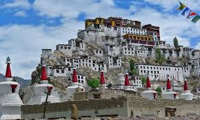 of the coolest heritage sites in  thiksey monastery ladakh