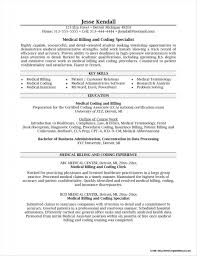 Medical Billing And Coding Resume Objective Statement Resume