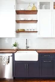 white kitchen butcher block counters diy countertops