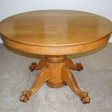 antique round table with claw feet claw foot coffee table brilliant vintage