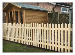 picket fencing at frodsham gates and fencing cheshire
