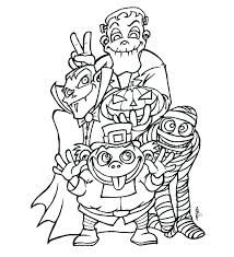 Creepy Coloring Pages Creepy Coloring Pages Scary Coloring Pages For