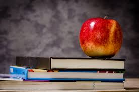 Image result for fruit and books