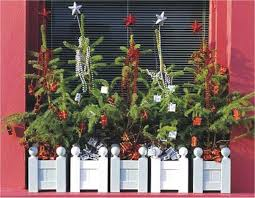 Christmas Window Box Decorations 100Outdoor Christmas Decorating Ideas Window Boxes 77