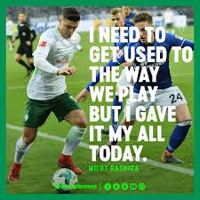 €* 28/06/1996 en vushtrri, yugoslavia (república federal). Milot Rashica Was Delighted To Make His Sv Werder Bremen Facebook