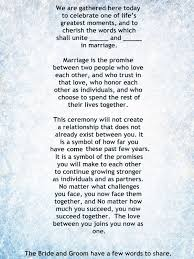 my non religious short and sweet wedding ceremony script par 1 wedding vows weddings wedding ceremony wedding officiant