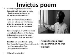 nelson mandela poems poems