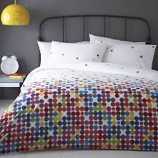 anime multi colour polka dot duvet cover set by marquis  dawe