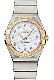 omega watches goldsmiths constellation range