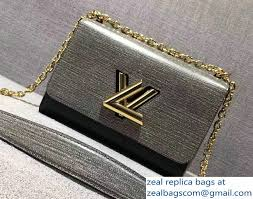 louis vuitton bags 2017 black. louis vuitton epi twist mm bag m54739 gray/black 2017 bags black