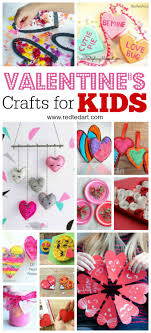 kids valentine s day ideas crafts a fantastic set of valentine s day crafts for close x red ted art tv