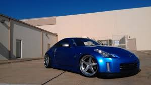 nissan 350z modified blue. Interesting Blue Genx350Zu0027s Modified 2006 Nissan 350Z Touring Blue Bull Intended 350z 0