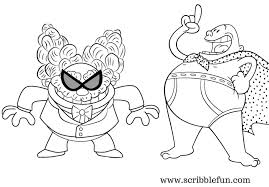 Captain Underpants Coloring Pages Free Printable Movie Colouring Pri
