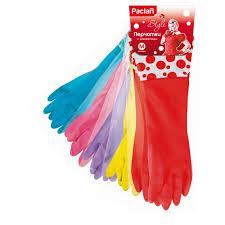 <b>Paclan Перчатки резиновые с</b> удлиненной манжетой Practi 1 пара