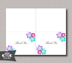 best folded wedding thank you cards products on wanelo Wedding Thank You Cards Printable hibiscus flower thank you card, diy printable folded notecard wedding, bridal shower, wedding thank you cards printable free