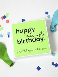birthday countdown gift box eigh25