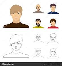 眼鏡とひげ髭の男髪型の男の出現でハゲ男の顔顔や姿は漫画