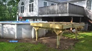 simple pool deck plans. Beautiful Deck Deck Build Intended Simple Pool Plans E