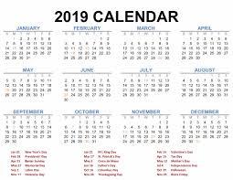 free calendar printable 2019 printable blank 2019 calendar templates calenndar com