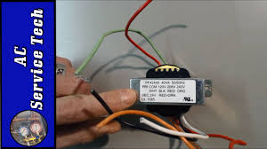 which hvac 24v transformer can you use for replacement on almost 120v to 12v transformer wiring diagram at 120v To 24v Transformer Wiring Diagram