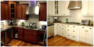 how to paint oak kitchen cabinets painting oak kitchen cabinets before and after fresh painting oak