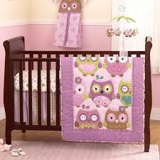 owl wonderland 4pc bedding set