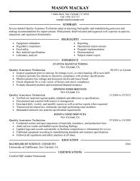 quality assurance resume examples quality assurance manager resume quality assurance inspector resume samples sample quality quality control engineer resume format quality control resume pharmaceutical