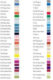 Polystar Thread Color Chart Image Result For Janome Embroidery Thread Colour Chart